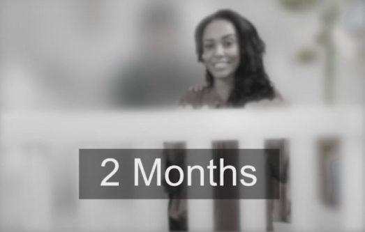 Visão aos 2 meses
