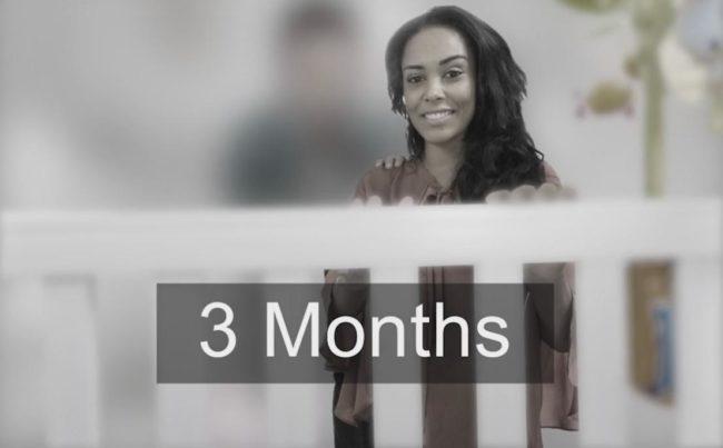 Visão aos 3 meses